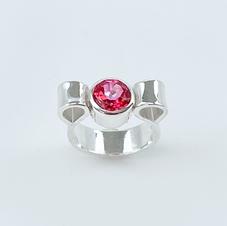 Blush Topaz Sterling Ring
