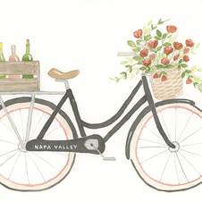 Roses and Rose Bicycle