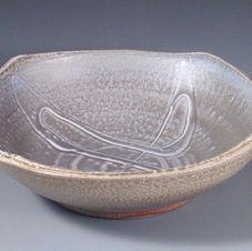 Slip Trailed Bowl