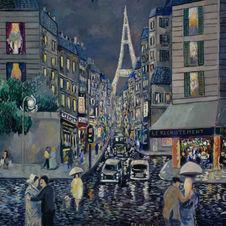 Paris: Rainy Day Rue St. Dominique