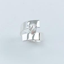Quartz Sterlling Ring