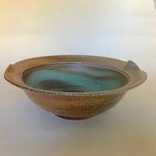 Ribbed Rim Bowl