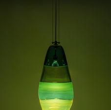 Green Hahalua Lamp