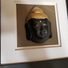 Framed Buddha Head