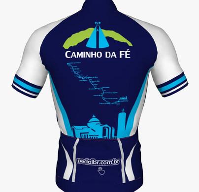 Camiseta Ciclista Caminho da Fé Pedido no link
