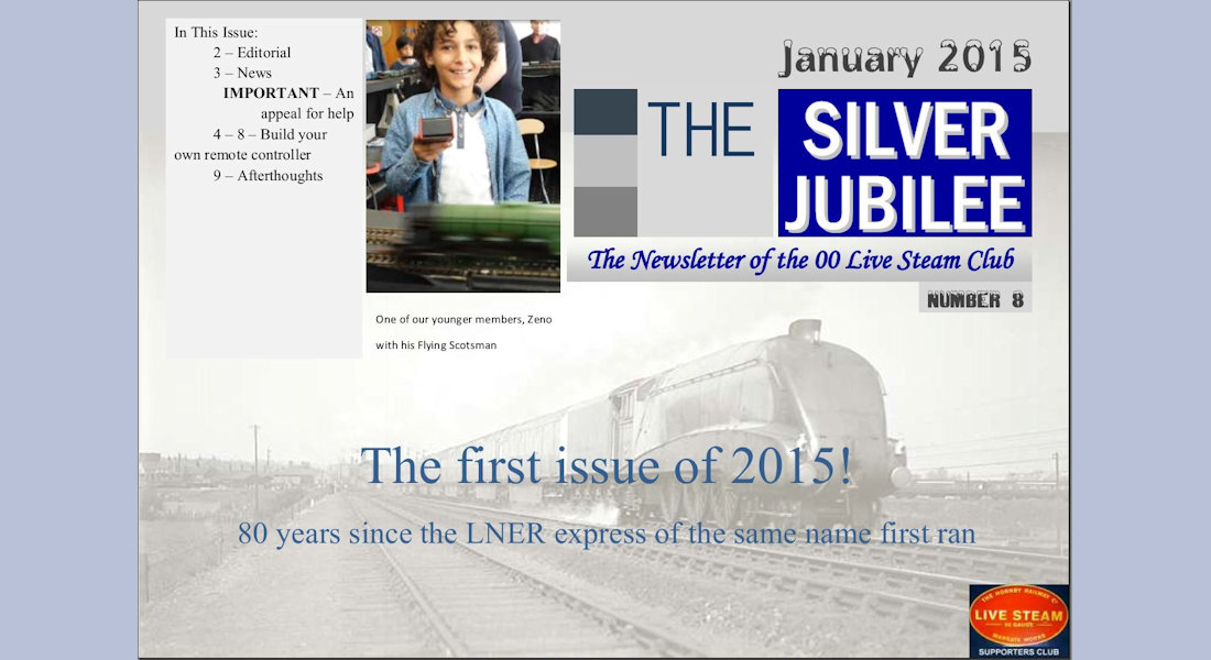 Silver Jubilee Issue 8