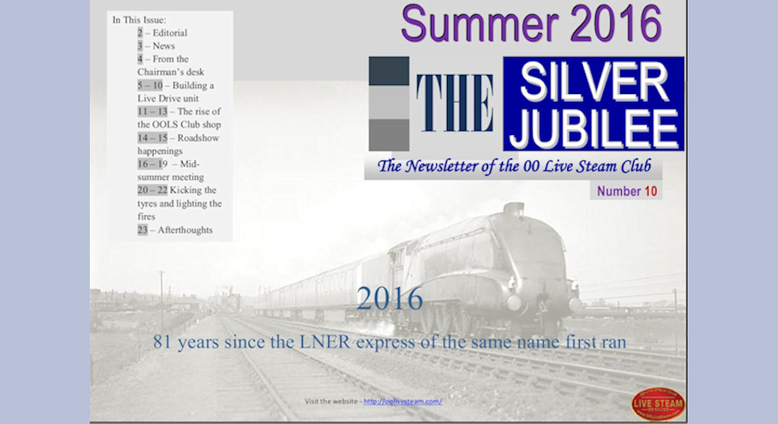 Silver Jubilee Issue 10