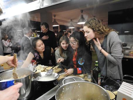International Kitchen - cooking event