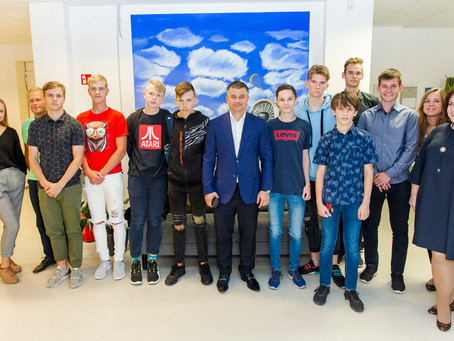 Making dreams come true - DofE visit to the Baltic Training Aviation Academy