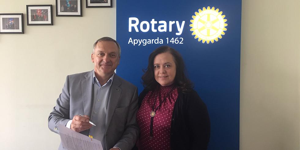 Regular meeting of Lituanica International Rotary Club