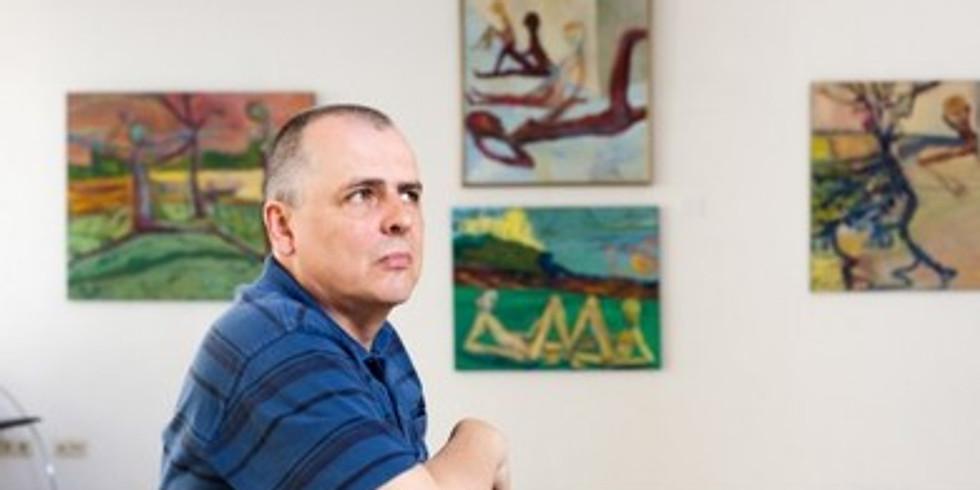 #RotaryExplorer: meeting artist Vygantas Paukštė in his studio