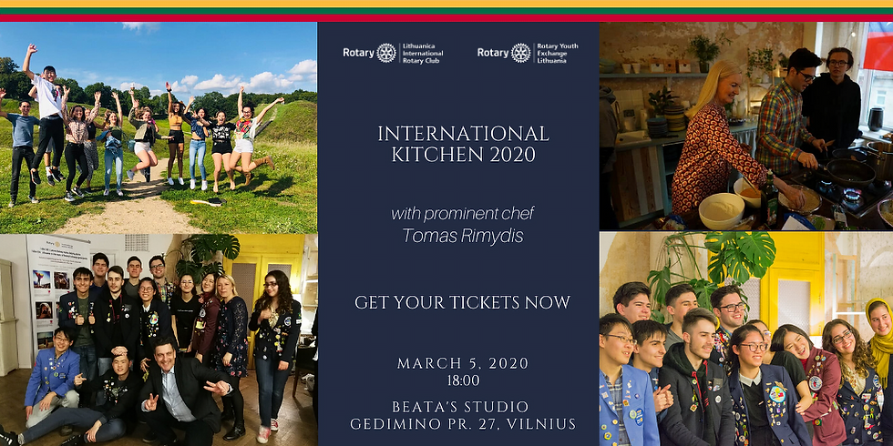This is NEW DATE International Kitchen 2020 with the famous chef Tomas Rimydis