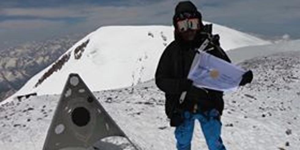 Member presents: Marius Čiuželis about himself, conquering Elbrus and Sidabrinė Linija
