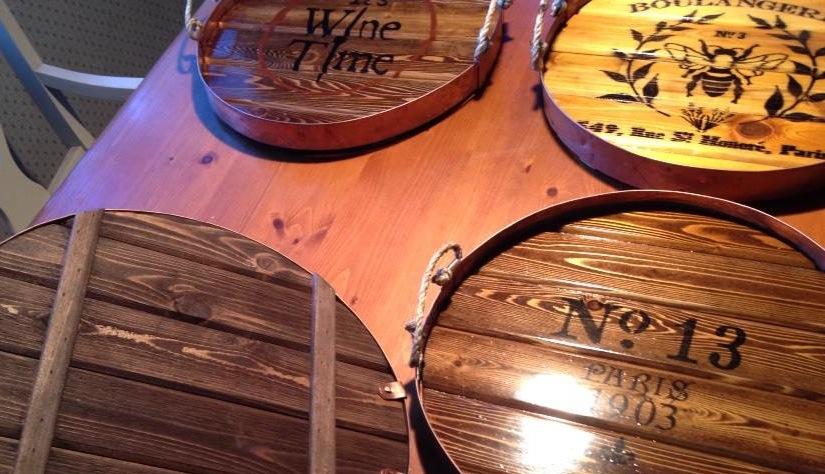 Wine trays