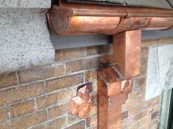 copper finish work