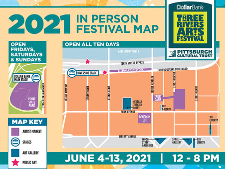 Three Rivers Arts Festival Expands to Point State Park