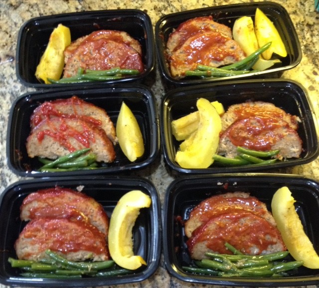Old Fashioned Meatloaf and Veggies