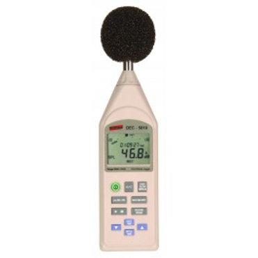 Decibelímetro Mod. DEC-5010, Faixa de Medição de 30 a 130