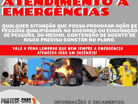 O PAE - Plano de Atendimento a Emergências