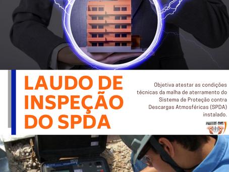 LAUDO DE INSPEÇÃO DO SPDA