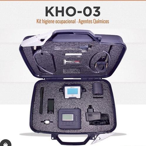KHO-03 Kit higiene ocupacional - Agentes químicos
