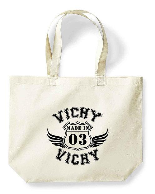 """Maxi-sac pour la vie """"Made in...Vichy"""