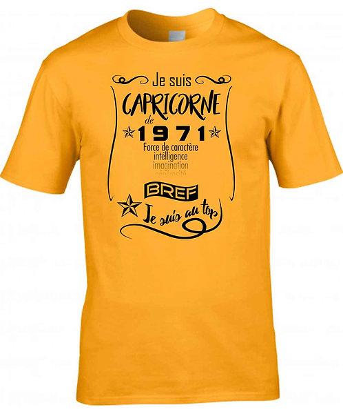 """T-shirt Homme Personnalisable """"Je suis..."""""""