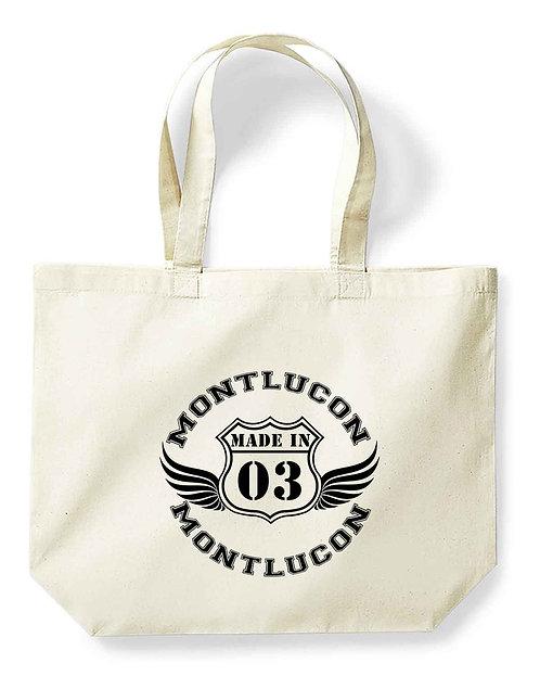 """Maxi-sac pour la vie """"Made in...Montluçon"""""""