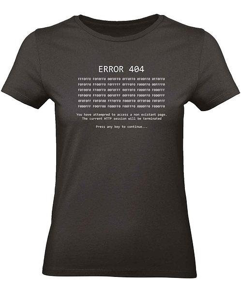 """T-shirt Femme """"Error 404"""""""