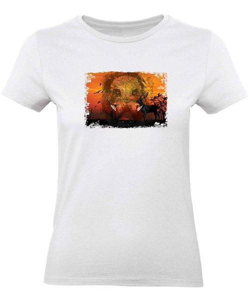 """T-shirt Femme """"Sanglier"""""""