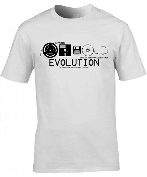 "T-shirt Homme ""Evolution Stockage"""