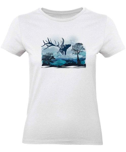 """T-shirt Femme """"Cerf"""""""
