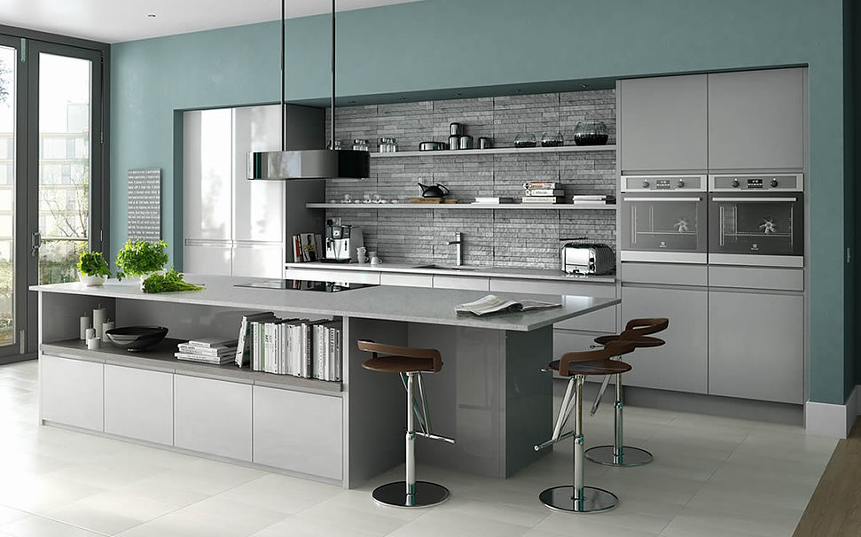 Choosing Kitchen Wall Colours Kitchens Llandudno Conwy Bangor Anglesey Rhyl North Wales