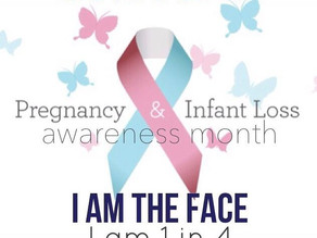 "Pregnancy & Infant Loss Awareness Month - ""I Had a Miscarriage"""