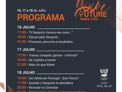 Programa Congresso YourFuture 2020