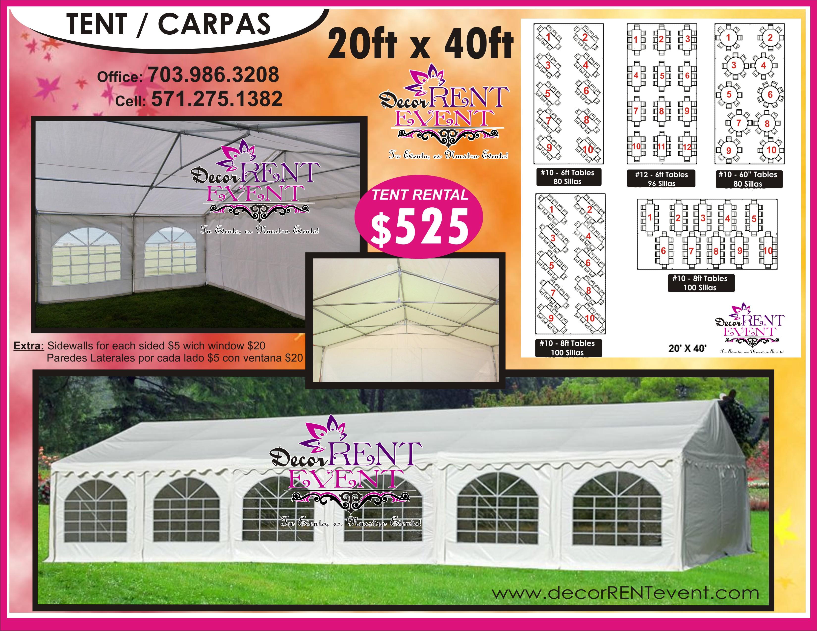 CARPAS 20X40