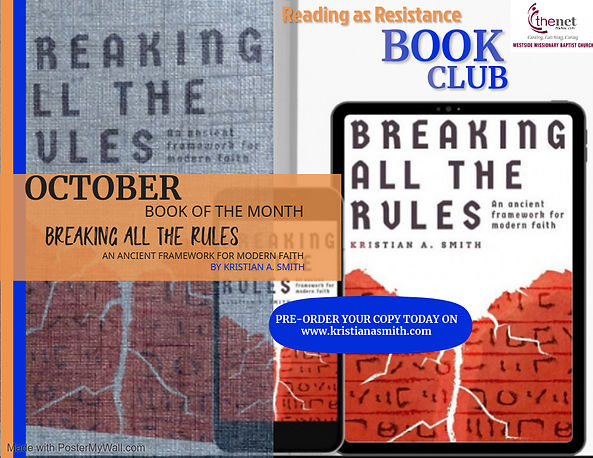 octoberbook club - Made with PosterMyWal