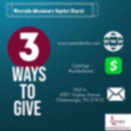 Ways to Give - Made with PosterMyWall.jp