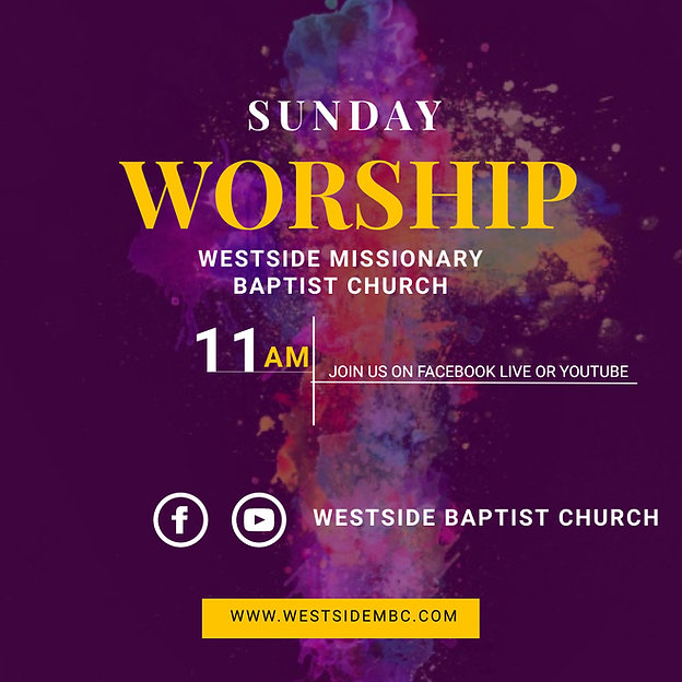 Copy of online church sunday worship ser