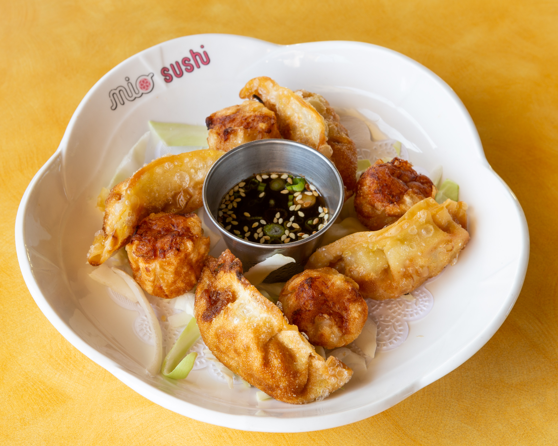 Shrimp Shumai And Gyoza Combo