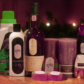 Nick Offerman's 'Lagavulin Scented Holiday Gifts'