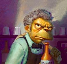 Who Scotch Mr. Burns?