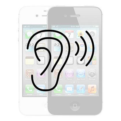 iPhone 4S Ørehøjtaler