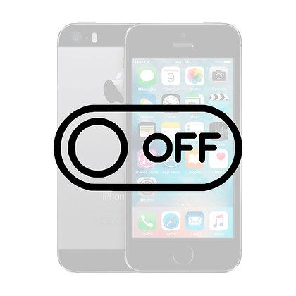 iPhone 5S Tænd/sluk knap