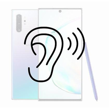 Samsung Note 10 Ørehøjtaler