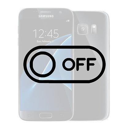 Samsung S7 Tænd/sluk knap