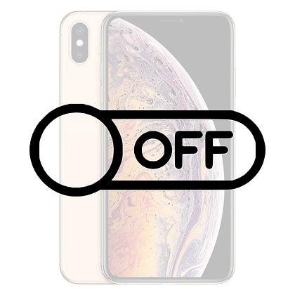 iPhone X Tænd/sluk knap