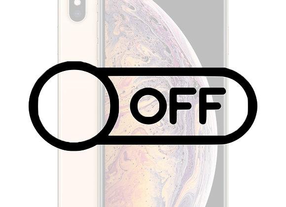 iPhone XS Max Tænd/sluk knap