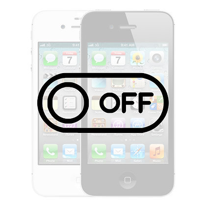 iPhone 4S Tænd/Sluk knap