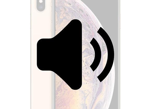 iPhone X Volume knap